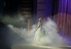 Disney on Ice, Cinderella, Des Moines, Iowa, November 2015. Cinderella in her ball gown Royalty Free Stock Photo