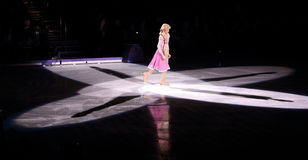 Disney on Ice, Rapunzel, Des Moines, Iowa, November 2015 Royalty Free Stock Images