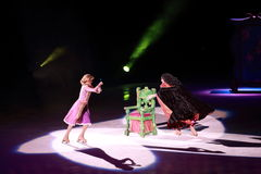 Disney on Ice, Rapunzel, Des Moines, Iowa, November 2015 Stock Photo