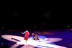 Disney on Ice, Snow White, Des Moines, Iowa, November 2015 Royalty Free Stock Photography