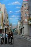 Disney Kalifornien affärsföretag Arkivfoto