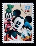 Disney-KaraktersPostzegel Royalty-vrije Stock Afbeeldingen