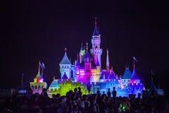 Disney kasztel Obraz Stock