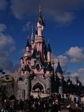 Disney kasztel Fotografia Royalty Free