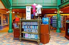 Disney lager på disneyland Hong Kong Arkivbild