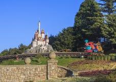 Disney land i Paris Royaltyfria Foton