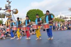 Disney Land Parade. Fun parade in Disney Land royalty free stock photo