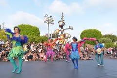 Disney Land Parade. Fun parade in Disney Land royalty free stock photos