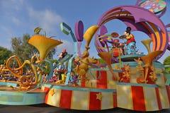 Disney Land Parade. Fun parade in Disney Land Royalty Free Stock Images