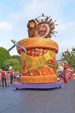Disney Land Parade. Fun parade in Disney Land Royalty Free Stock Photography
