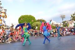 Disney Land Parade. Fun parade in Disney Land stock photos