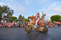 Disney Land Parade. Fun parade in Disney Land royalty free stock image
