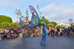 Disney Land Parade. Fun parade in Disney Land stock image