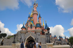 Disney land Paris Arkivbild