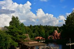 Disney landen Lizenzfreie Stockbilder