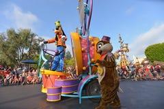 Disney landen Parade Stockfotografie
