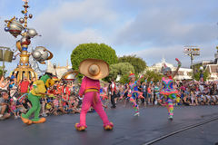 Disney landen Parade Lizenzfreie Stockfotografie