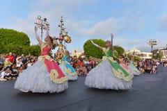 Disney landen Parade Lizenzfreies Stockfoto