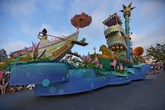 Disney landen Parade Lizenzfreies Stockbild