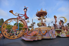 Disney landen Parade stockfotos