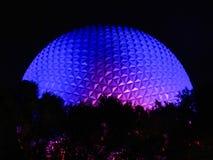 Disney ljus i en Orlando natt Royaltyfri Foto