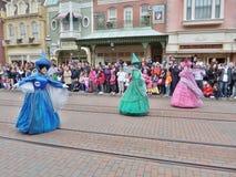 Disney magia na paradzie Zdjęcie Royalty Free