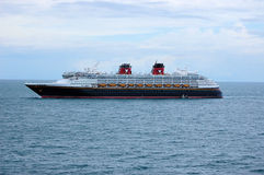 Disney Magic Cruise Ship Sea Ocean Stock Images