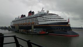 Disney Magic docked in Liverpool 2016 stock images