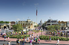 Disney main street Stock Image