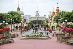 Disney Main Street USA arkivbild