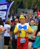 Disney Marathon running royalty free stock photo