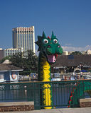 Disney Marketplace Lego Dragon Stock Photography