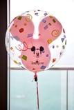 Disney Mickey Mouse ballong från Hong Kong Disneyland royaltyfria bilder