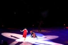 Disney na lodzie, Śnieżny biel, Des Moines, Iowa, Listopad 2015 Fotografia Royalty Free