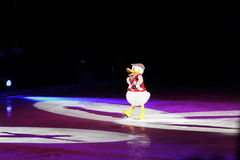 Disney na lodzie, Donald kaczka, Des Moines, Iowa, Listopad 2015 Obrazy Royalty Free