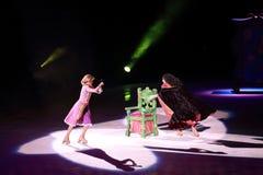 Disney na lodzie, Rapunzel, Des Moines, Iowa, Listopad 2015 Zdjęcie Stock
