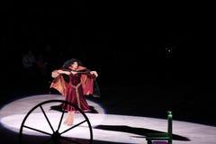 Disney na lodzie, Rapunzel, Des Moines, Iowa, Listopad 2015 Zdjęcia Stock