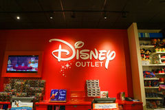 Disney outlet store Royalty Free Stock Images
