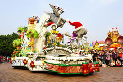 Disney-Parade Stockbild