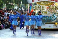 Disney parade dancers Royalty Free Stock Photo