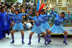 Disney parade dancers Stock Image