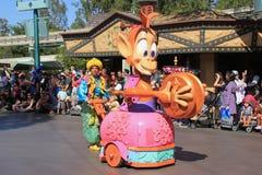 Disney-Parade in Disneyland Stock Afbeelding