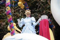 Disney-Parade in Hong Kong Stockbild