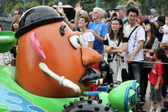Disney parade in hong kong Stock Images