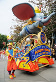 Disney parade in Hongkong Stock Photography