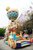 Disney parade in Hongkong Stock Images