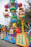 Disney parade in Hongkong Stock Photos