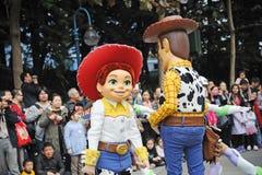 Disney parade in Hongkong Royalty Free Stock Photo