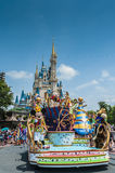 Disney parade Royalty Free Stock Image