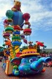 Disney parade with winnie the pooh